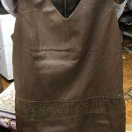 婦人服:merion 羊皮 ワンピース